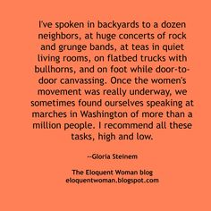 The Eloquent Woman's weekly speaker toolkit Famous Speeches, Womans Weekly, Public Speaking Tips, Woman Quotes, Great Quotes, Helpful Hints, Blog, Rock, Women