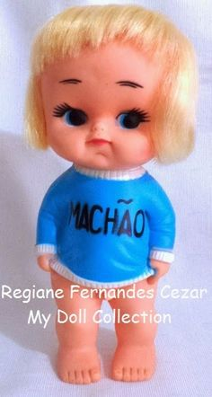 My Dolls Collection: Boneco Machão, Kaplast, 1978