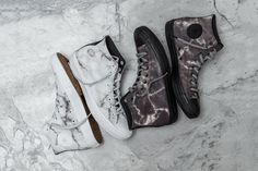 """Converse First String Chuck Taylor All Star II """"Marble"""" Pack"""