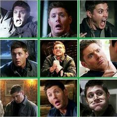 The many faces of Dean.