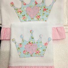Kit de fraldas e toalhas. Atelie Arte no Pano 9195-9281