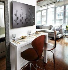 50 einrichtungsideen für kleine esszimmer - esszimmer esstisch mit, Esstisch ideennn