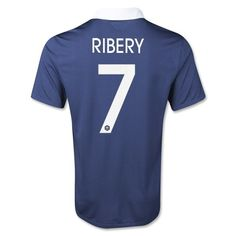Special Price: $44.99 for France Ribery #7 Home Soccer Jersey 2014 at http://www.ussoccerjerseyscheap.com/brazil-2014-pele-10-home-soccer-jersey.html