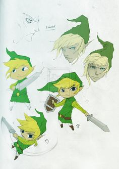 sketches of Link