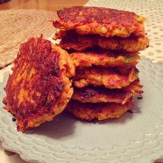 Sweet Potato Fritters | Planks, Love & Guacamole