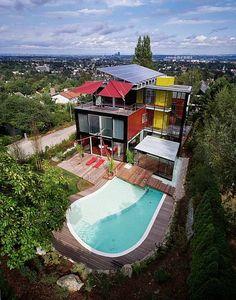 Designer mansion in Vienna, Austria