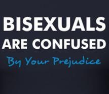 Yep. Basically. I just let people think I'm gay because I'm tired of being interrogated about being bisexual.