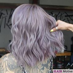 Shared by *Emma*. Find images and videos about purple hair, lilac hair and lavender hair on We Heart It - the app to get lost in what you love. Light Purple Hair, Hair Color Purple, Silver Purple Hair, Light Colored Hair, Green Hair, Purple Wig, Silver Color, Grey Hair With Purple, Pastel Hair Colour