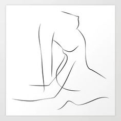 Cover your walls with artwork and trending designs from independent artists worldwide. Drawings Of Friends, Love Drawings, Art Drawings, Female Body Art, Sneaker Art, Abstract Line Art, Couple Art, Minimalist Art, Erotic Art