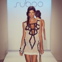 On the runway with #Suboo at Swim 2012 Show - Mercedes Benz Fashion Week #swimwear #swimsuits #MiamiFashionWeek #Miami