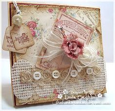 Our Creative Corner: Buttons 'n Burlap or Bows