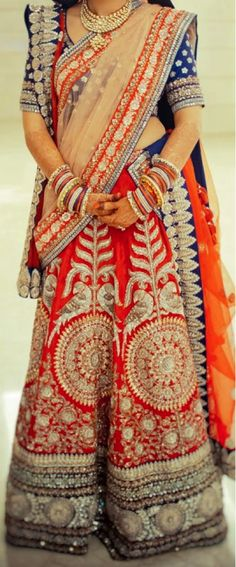 trending indian bridal style 2013