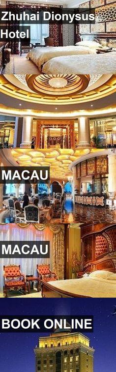 Hotel Zhuhai Dionysus Hotel in Macau, Macau. For more information, photos, reviews and best prices please follow the link. #Macau #Macau #ZhuhaiDionysusHotel #hotel #travel #vacation