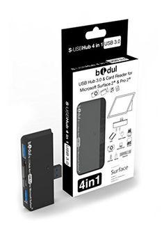 HUB USB avec 2 ports USB 3.0 + lecteur de carte 4 en 1 pour tablette Microsoft , Surface Pro, Surface 2, Surface Pro 2 et Surface Pro 3 BIDUL http://www.amazon.fr/dp/B00HWMP108/ref=cm_sw_r_pi_dp_Bbrtvb0VRSQ92