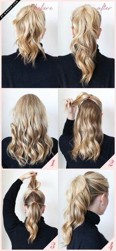 Cabelos presos para o verão - 7 Penteados fáceis