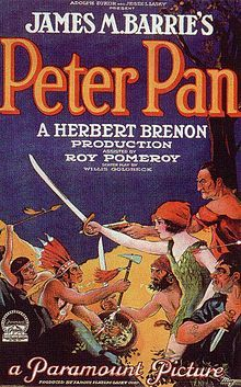 Peter Pan, starring Ernest Torrence