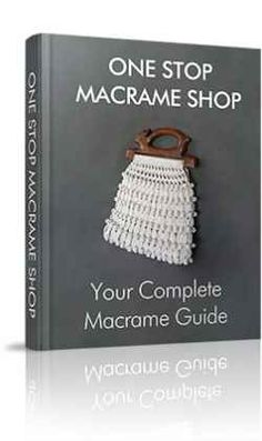 A complete up to date Macramé guide, with patterns, knot instructions, supplier info, etc. Everything you need to start making great looking Macramé projects.