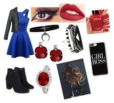 """""""She's kinda hot though...😈💕💕"""" by chanchalbijarnia ❤ liked on Polyvore featuring Chicnova Fashion, Monsoon, Casetify, Bling Jewelry, Jouer and Zoya"""