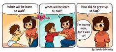 Mom's Spot-On Comics Show New Parenthood In All Its Chaotic Glory