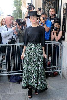 Ulyana Sergeenko - Paris Fall 2016 Haute Couture Fashion Week - July 2016