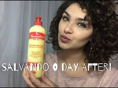 REVITALIZANDO O CABELO NO DAY AFTER - COM YAMASTEROL* - YouTube