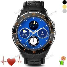 I2 Smart Watch Phone Quad-Core 3G Dialer Android 5.1 Wi-Fi MTK6580 Google Play GPS Heart Rate Monitor Pedometer E-513324
