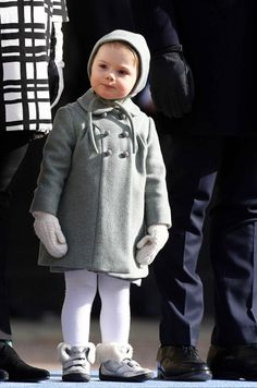 Princess Estelle of Sweden, daughter of the Crown Princess and Prince Daniel