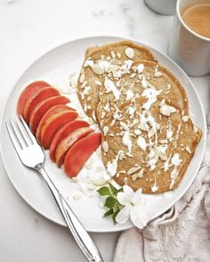 Whole Grain-Almond Flour Pancakes