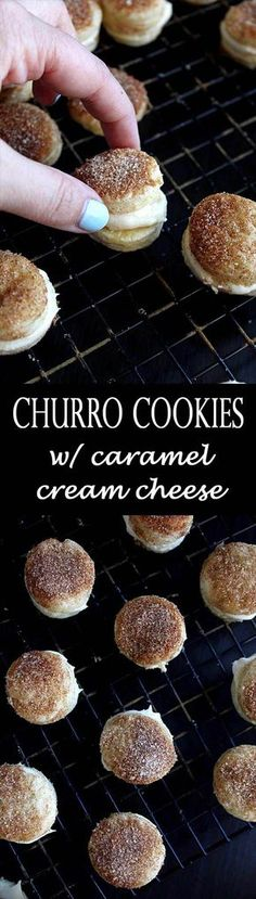 Cinnamon Sugar Cookies   Churro Cookies   Caramel Cream Cheese Frosting   Dulce de Leche   Cinco de Mayo