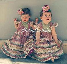 Flamenco Skirt, Skirts For Kids, Tribal Dress, Wedding Costumes, Folk Costume, Festival Wear, Traditional Dresses, Dance Wear, Harajuku