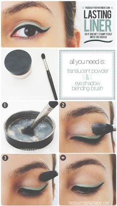 Make Eyeliner Last. #makeuptips