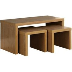 Buy Chicago Long John Coffee Table - Oak at Argos.co.uk - Your Online Shop for Occasional and coffee tables.