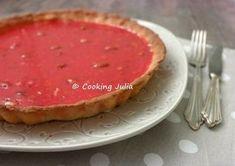 COOKING JULIA: TARTE AUX PRALINES ROSES