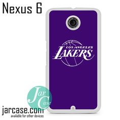 Purple Lakers Phone case for Nexus 4/5/6