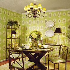 Instant Makeovers | Small Dining Room (after) | SouthernLiving.com