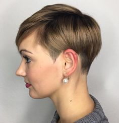 Short Boyish Haircut For Girls