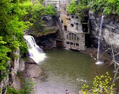 Old Waterworks in Ithaca NY