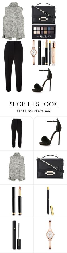 """Style #402"" by maksimchuk-vika ❤ liked on Polyvore featuring Alexander McQueen, Monique Lhuillier, Fat Face, Versace, Gucci, Christian Louboutin, Maybelline, Lancôme, DKNY and Burberry"