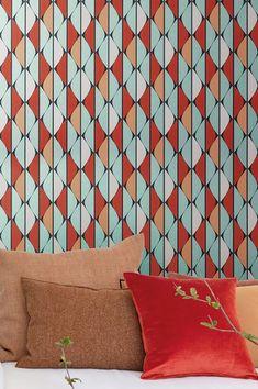 Lo stile pregiato ne fa una carta da parati design moderna molto elegante. 29 Carta Da Parati Rossa Ideas Red Wallpaper Wallpaper Pattern Wallpaper