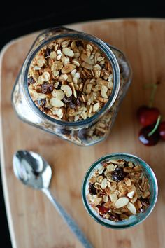 Cherry Almond Granol