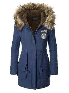 Buy Hooded Drawstring Zips Fleece Lined Coat online with cheap prices and discover fashion Coats at Fashionmia.com.
