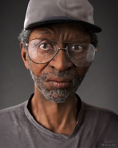 A mix between realistic and a stylized render portrait. A great amount of detailed work is put into this man, great textures and an anatomically correct sculpt. A job well done by Rico!