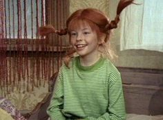 "Pippi had some wild dreams. ""Pippi Goes on Board"" Sweden 1969"