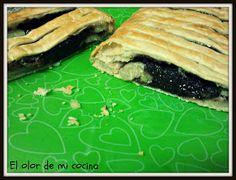 EL OLOR DE MI COCINA: STRUDEL DE PLATANO Y CHOCOLATE