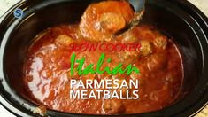 These homemade crockpot meatballs are easy to make and won't last long in your house, because they are absolutely delicious. Get the recipe: http://www.simplemost.com/how-to-make-delicious-slow-cooker-italian-parmesan-meatballs-at-home/?utm_source=pinterest&utm_medium=referral&utm_campaign=organic