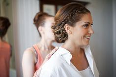 Jessica Alba Braided updo, Braided updo, wedding hair, bridal hair, snap! weddings