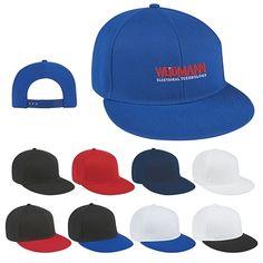 Promotional Flat Bill Cap   Customized Flat Bill Cap   Logo Caps