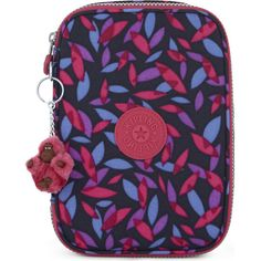 Kipling 100 pens large nylon stationery case ($47) ❤ liked on Polyvore featuring home, home decor, office accessories, stamp pen, logo pens, colored pens, kipling and colored pencil holder