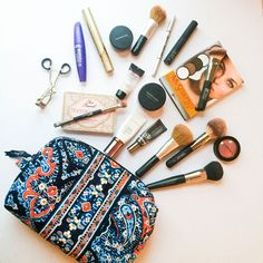 {birthday celebrations} vera bradley makeup bag giveaway - ends soon! with southern anchors