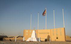 Camp Bastion Memorial Wall